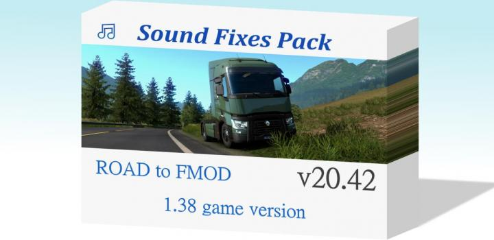 Photo of ETS2 – Sound Fixes Pack V20.42 (1.38.x)