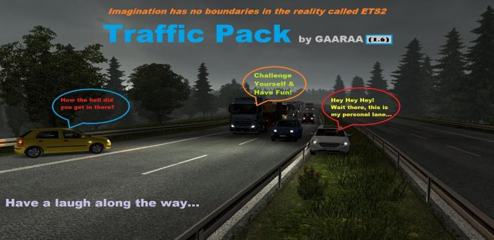 Photo of ETS2 – Traffic Pack V1.6 (1.38.x)