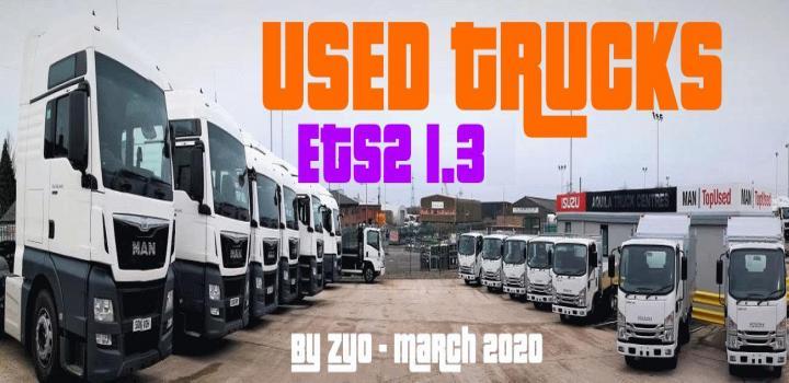 Photo of ETS2 – Used Trucks (1.38.x)