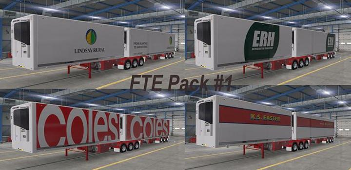 Photo of ATS – Fte Aussie Trailer Pack V1 (1.38.x)