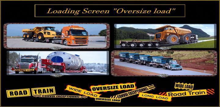 Photo of ATS – Loading Screen Oversize Load V1 (1.38.x)