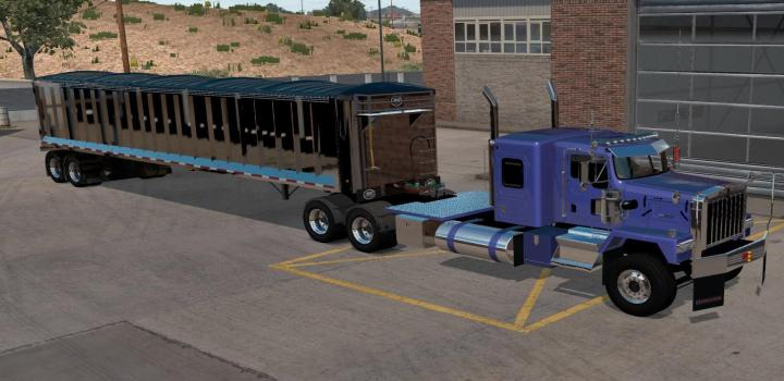 Photo of ATS – Mac Walking Floor Dump Custom (1.38.x)