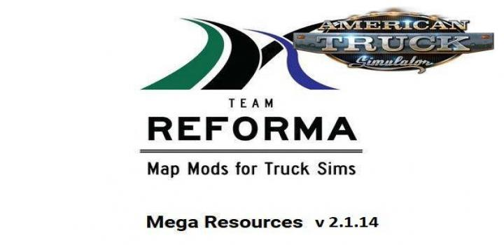 Photo of ATS – Mega Resources Mod V2.1.14 (1.38.x)