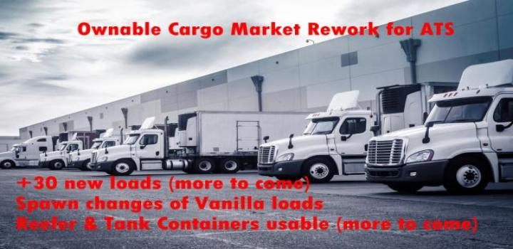 Photo of ATS – Ownable Cargo Market Reworked V1 (1.38.x)
