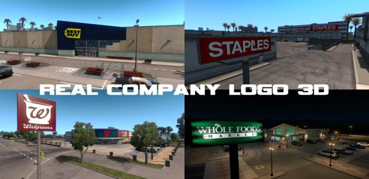 Photo of ATS – Real Company Logo 3D V1.7 (1.38.x)