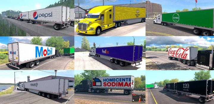 Photo of ATS – Skins For All Company Trailers (1.38.x)