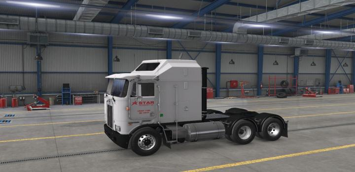 Photo of ATS – Star Transport, Inc. Skin for Overfloaters Kenworth K100E (1.38.x)