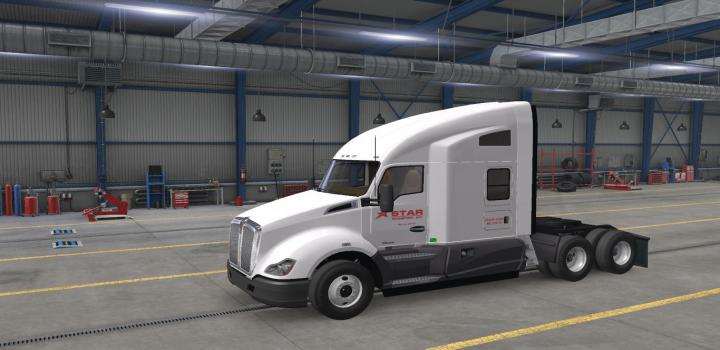 Photo of ATS – Star Transport Inc. Skins for Scs Default Trucks V2.2 (1.38.x)