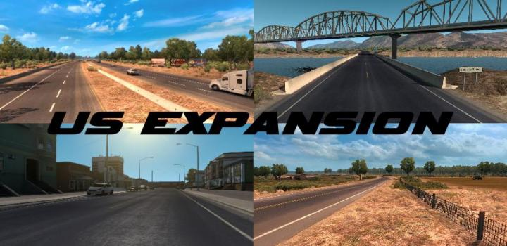 Photo of ATS – Us Expansion V2.7 – Sierra Nevada Compatible (1.38.x)