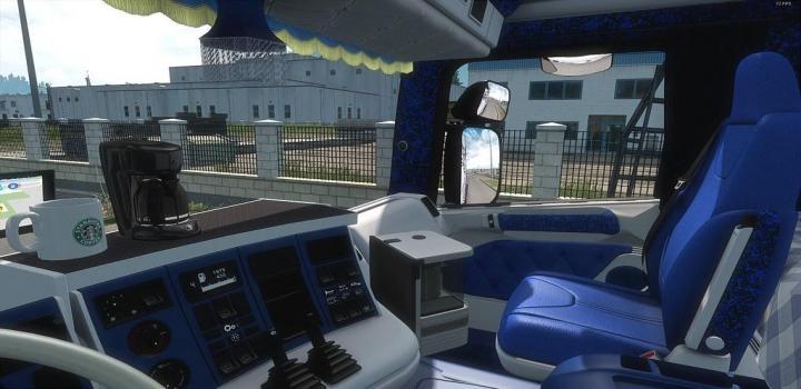 Photo of ETS2 – Custom Interior for Rjls Scania 4 Series (1.38.x)