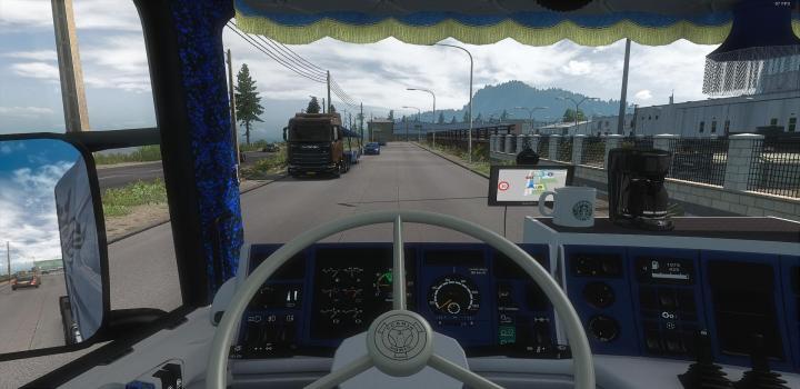 Photo of ETS2 – Custom Interior for Rjls Scania 4 Series V0.2 (1.38.x)