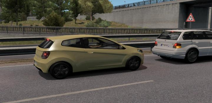 Photo of ETS2 – Fictional Cars Traffic Package (1.38.x)