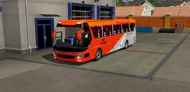 Photo of ETS2 – Hyundai Uxn Reworked Bus (1.37.x)