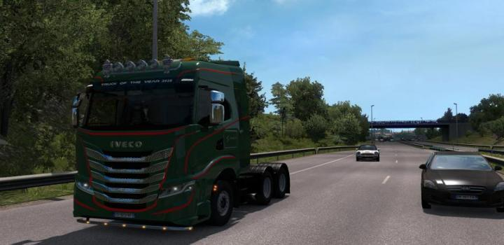 Photo of ETS2 – Iveco S-Way V1 (1.38.x)
