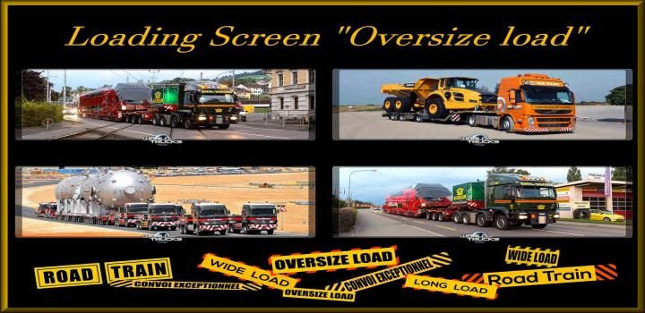 Photo of ETS2 – Loading Screen Oversize Load V1 (1.38.x)