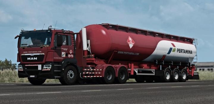 Photo of ETS2 – Man Tgs Euro 5 Reworked Russian And Asian Spec (1.38.x)