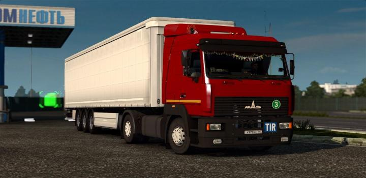 Photo of ETS2 – Maz 5340/5440/6430A8 Reworked Truck (1.38.x)