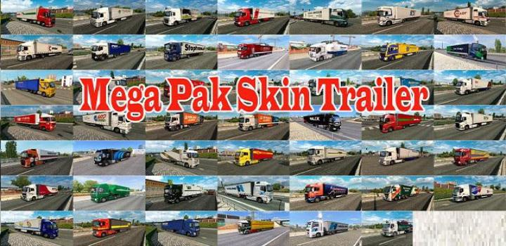 Photo of ETS2 – Mega Trailer Skin Pack V1 (1.38.x)