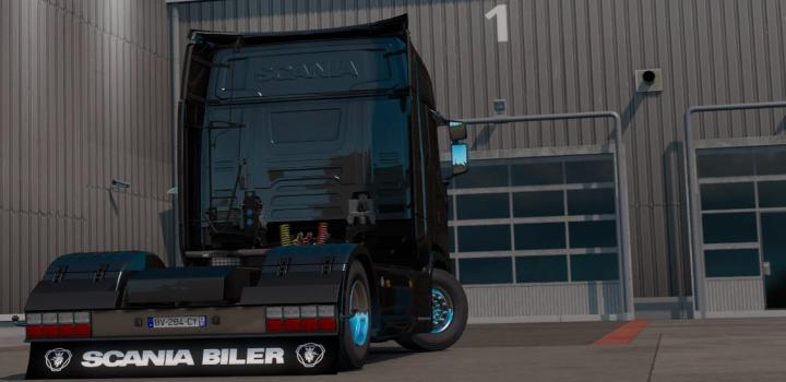 Photo of ETS2 – Mudflap Scania Pack (1.38.x)