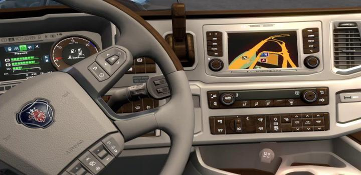 Photo of ETS2 – New Scania Lux Interior V1 (1.38.x)