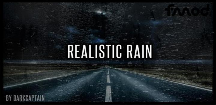 Photo of ETS2 – Realistic Rain V3.7.1 (1.38.x)