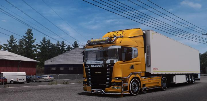 Photo of ETS2 – Scania R560 V8 (1.38.x)