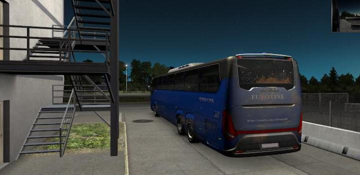 Photo of ETS2 – Scania Touring Bus 2020 Hd Dirty And Blue Skin Mods (1.38.x)