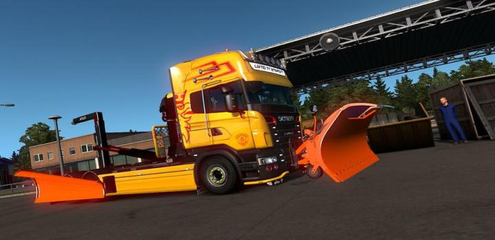 Photo of ETS2 – Snow Plow Dlc Beta (1.38.x)