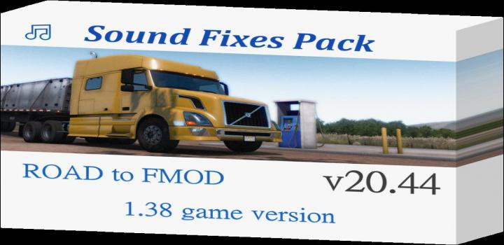 Photo of ETS2 – Sound Fixes Pack V20.44 (1.38.x)