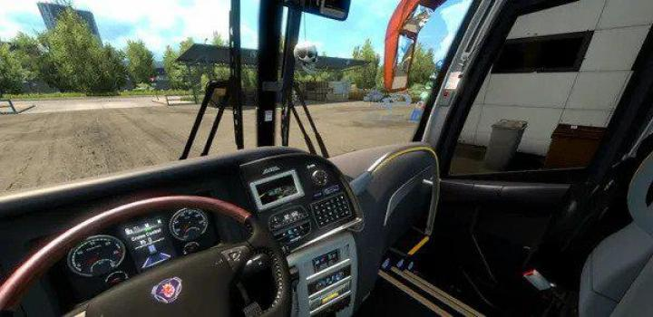 Photo of ETS2 – Steering Mod for Bus And Truck (1.38.x)