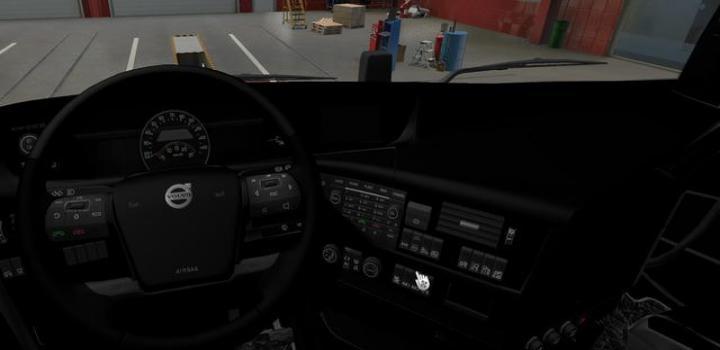 Photo of ETS2 – Volvo Fh 2012 Interior Black V1 (1.38.x)