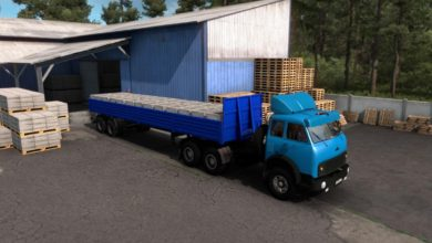 Photo of ETS2 – Maz 504B-515B Truck (1.38.x)