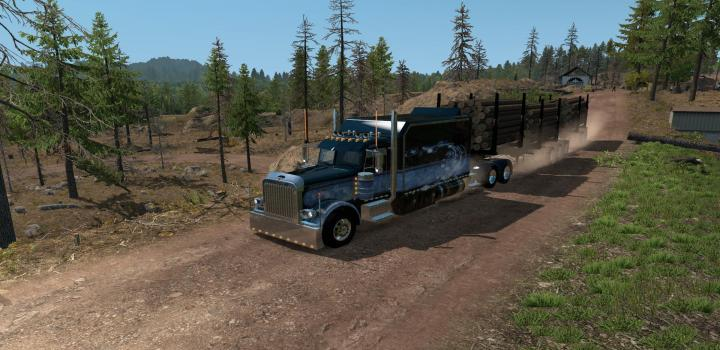 Photo of ATS – Arctic Logs Trailers (1.38.x)