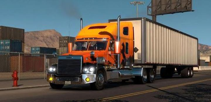 Photo of ATS – Freightliner Coronado (1.38.x)
