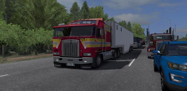 Photo of ATS – Kenworth K100-E Truck V1.2 (1.38.x)