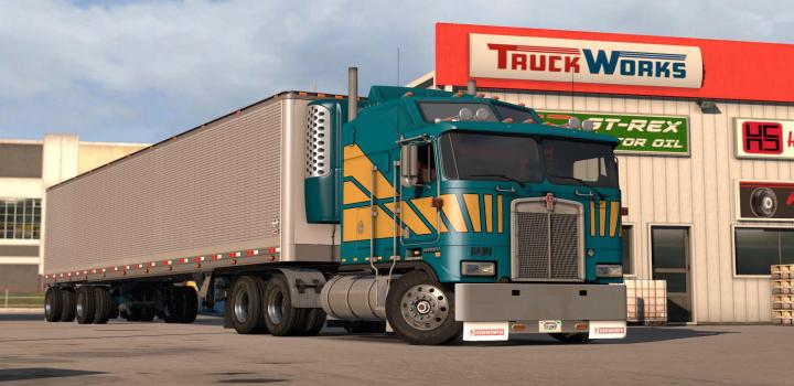 Photo of ATS – Kenworth K100-E V1.2.1 (1.38.x)