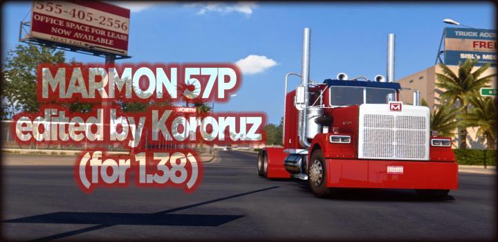 Photo of ATS – Marmon 57P Truck V0.99 (1.38.x)