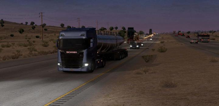 Photo of ATS – Scania Trucks V4 (1.38.x)