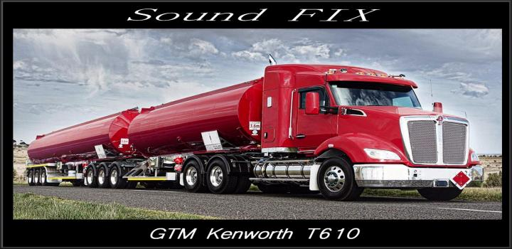 Photo of ATS – Sound Fix for Gtm Kenworth T610 V1 (1.38.x)