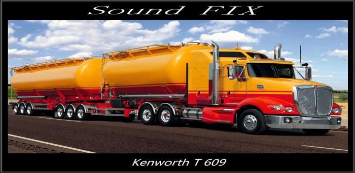 Photo of ATS – Sound Fix for Kenworth T609 V1.1 (1.38.x)