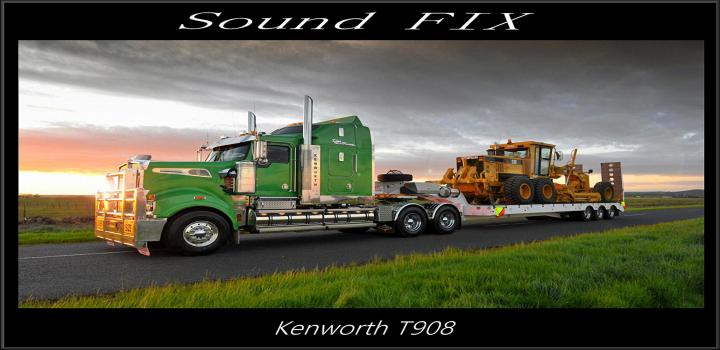 Photo of ATS – Sound Fix For Kenworth T908 V1.1 (1.38.x)