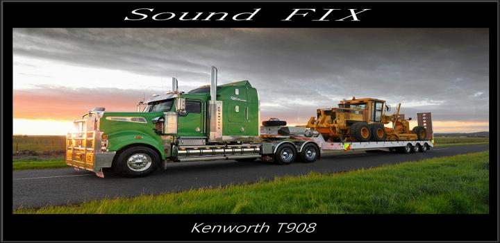 Photo of ATS – Sound Fix for Kenworth T908 V1 (1.38.x)