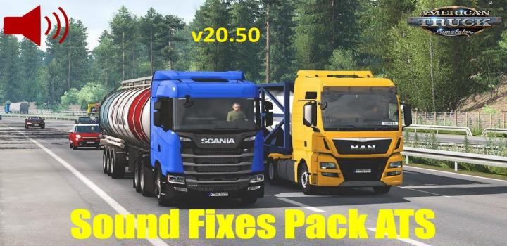 Photo of ATS – Sound Fixes Pack V20.50 (1.38.x)