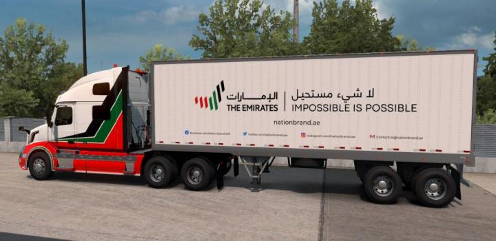 Photo of ATS – The Emirates Trailer Pack V1 (1.38.x)