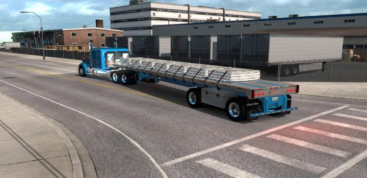 Photo of ATS – The Great Dane Flatbed Ownable (1.38.x)