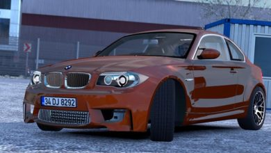 Photo of ETS2 – Bmw 1M E82 V1R40 (1.38.x)