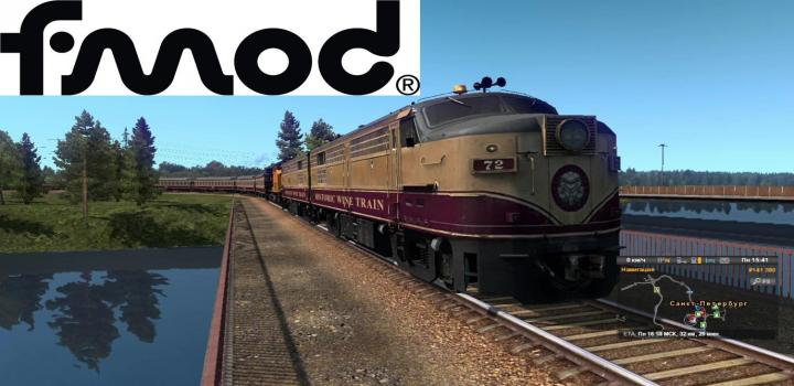 Photo of ETS2 – American Improved Trains V3.5 (1.38.x)