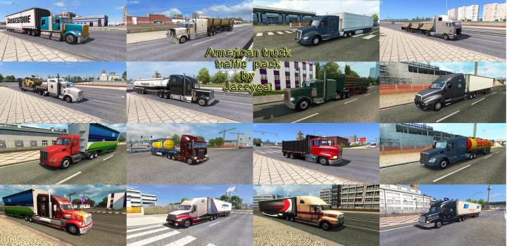 Photo of ETS2 – American Truck Traffic Pack V2.3 (1.38.x)