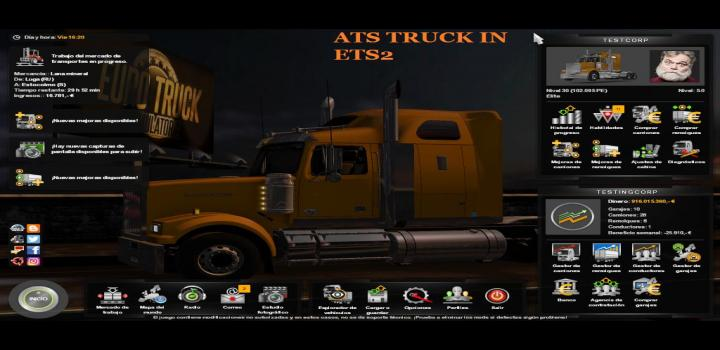 Photo of ATS Mods In ETS2 (1.38.x)