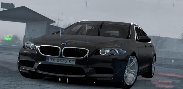 Photo of ETS2 – Bmw M5 Touring V1R40 (1.38.x)